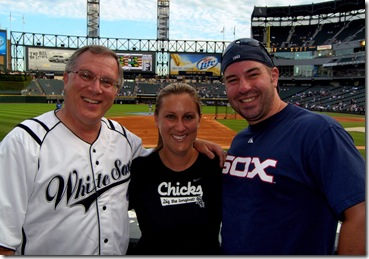 Stacy, Jason and John at Sox Game132